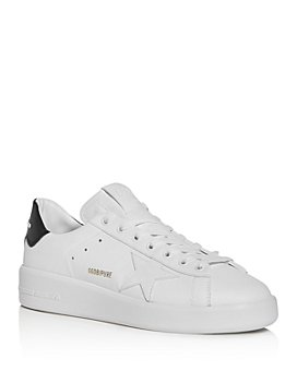 Golden Goose Deluxe Brand - Unisex Pure Star Leather Low-Top Sneakers
