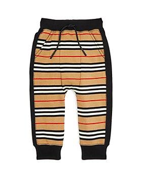 Burberry - Boys' Lance Icon Stripe Jogger Pants - Little Kid, Big Kid