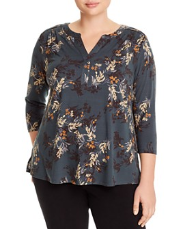 Daniel Rainn Plus - Floral Print Top