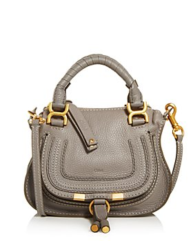 Chloé - Marcie Mini Leather Crossbody Satchel