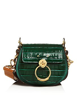 Chloé - Tess Small Croc-Embossed Crossbody