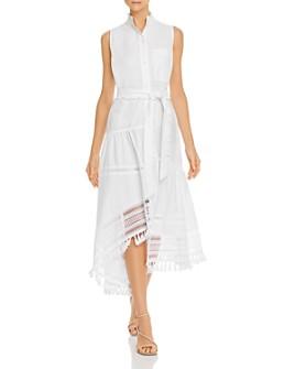 Derek Lam 10 Crosby - Nerioa Embellished Shirt Dress