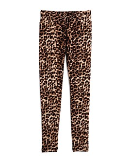 AQUA - Girls' Leopard Print Leggings, Big Kid - 100% Exclusive