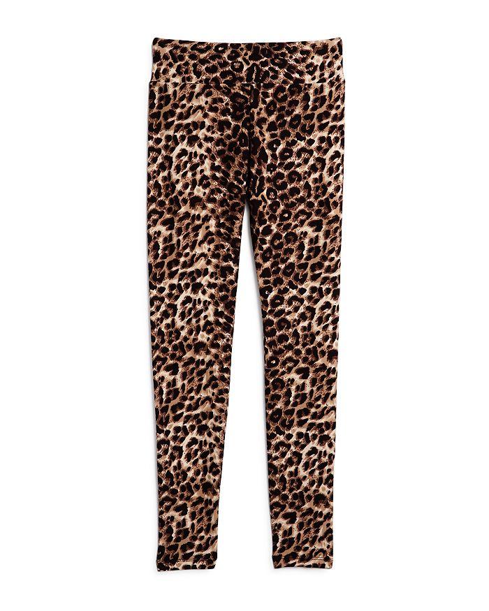 AQUA - Girls' Leopard Print Leggings, Big Kid - 100% Exclusive