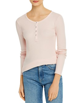 Splendid - Thermal Henley Top