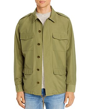 FRAME - Military Regular Fit Shirt Jacket