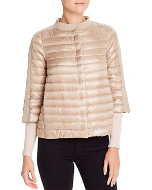 Herno Cropped Down Puffer Jacket-Women