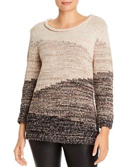 KARL LAGERFELD PARIS - Ombré Long-Sleeve Sweater