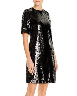 BOSS - Dettia Sequined Shift Dress