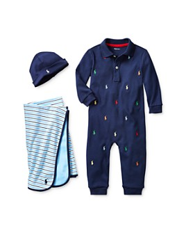 Ralph Lauren - Boys' Pony Perfect Baby Bundle - Baby