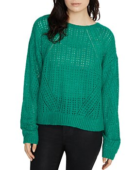 Sanctuary - Hole in One Open-Knit Sweater