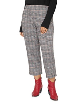 Sanctuary Curve - The Runway Cropped Plaid Pants