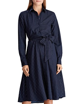 Ralph Lauren - Polka Dot Shirt Dress