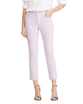 Ralph Lauren - Straight Ankle Jeans in Pearl Lavender