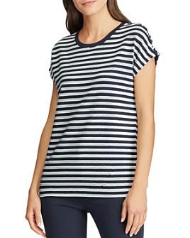 Ralph Lauren - Striped Sequin Top