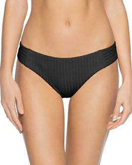 BECCA® by Rebecca Virtue - Loreto Ribbed American-Fit Bikini Bottom