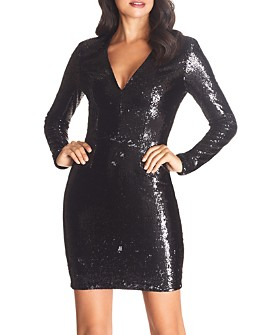 Dress the Population - Shauna Sequined Body-Con Dress - 100% Exclusive