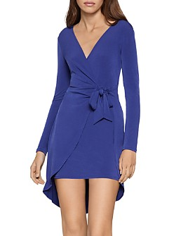 BCBGENERATION - High/Low Wrap Dress