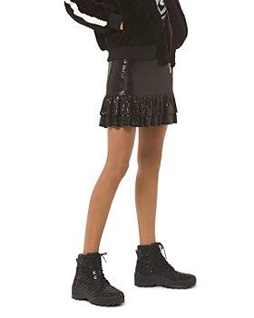 MICHAEL Michael Kors - Tiered Metallic Dot-Embellished Skirt