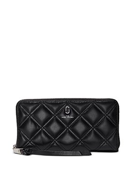 MARC JACOBS - Standard Quilted Leather Continental Wallet