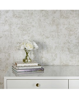 Tempaper - Distressed Gold Leaf Self-Adhesive, Removable Wallpaper, Double Roll