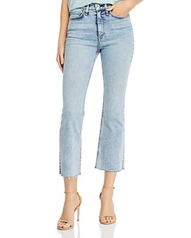 rag & bone - Nina High-Rise Ankle Flare Jeans in Dakota - 100% Exclusive