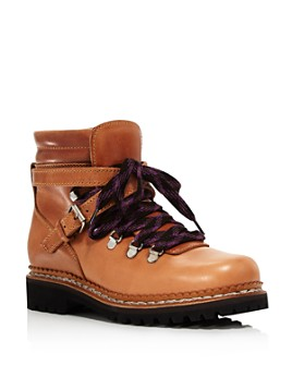 Tabitha Simmons - Women's Neela Leather Hiker Boots