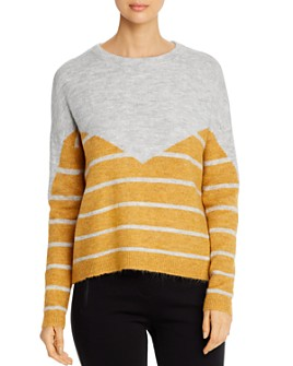 Vero Moda - Rana Color-Blocked Striped Sweater