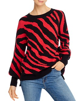 FRENCH CONNECTION - Tiger Jacquard Sweater