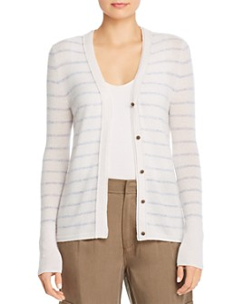 Brochu Walker - Ciri Striped Cashmere Cardigan