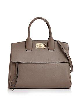 Salvatore Ferragamo - Studio Bag Leather Satchel