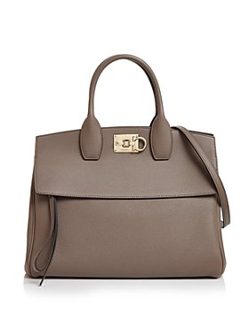 Salvatore Ferragamo - Studio Bag Leather Satchel