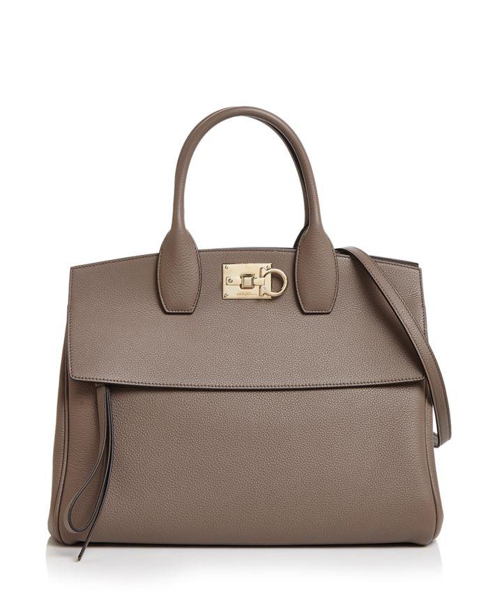 Salvatore Ferragamo Studio Bag Leather Satchel  | Bloomingdale's