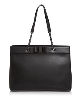 Salvatore Ferragamo - Vara RW Leather Tote