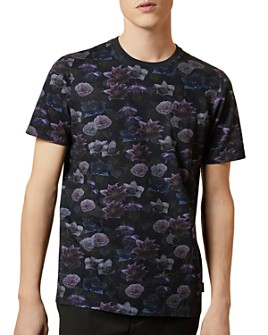 Ted Baker - Zoom Textured Floral Tee