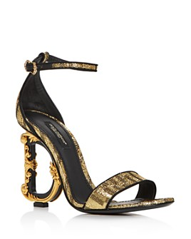 Dolce & Gabbana - Women's D&G Ornate High-Heel Sandals