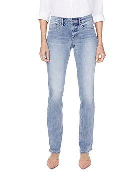 NYDJ - Marilyn Straight-Leg Jeans in Biscayne