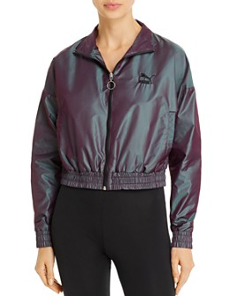 PUMA - Iridescent Cropped Jacket