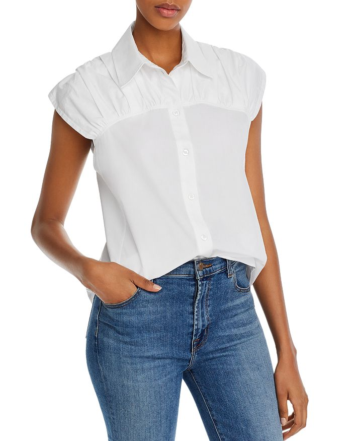 See by Chloé - Ruched Detail Button-Down Shirt