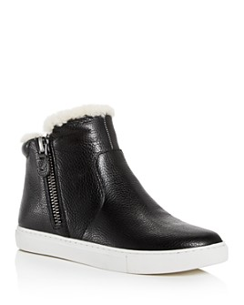 Gentle Souls by Kenneth Cole - Women's Carter Cozy Shearling High-Top Sneakers