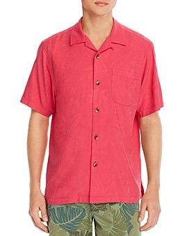 Tommy Bahama - Al Fresco Tropics Short-Sleeve Classic Fit Jacquard Shirt