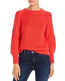 T Tahari - Multi-Rib Crewneck Sweater