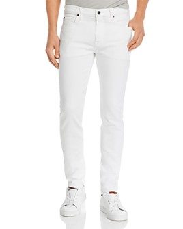 7 For All Mankind - Adrien Clean Pocket Slim Fit Jeans in Natural