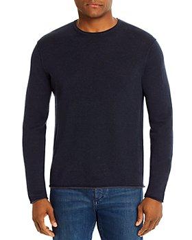 rag & bone - Trent Rolled Crewneck Sweater