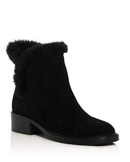 Sigerson Morrison - Women's Hatty Faux Fur Booties
