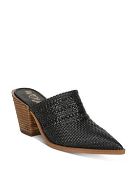 Sam Edelman - Women's Lillianna Stacked Heel Mules