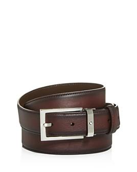 Montblanc - Men's Burnished Leather Belt