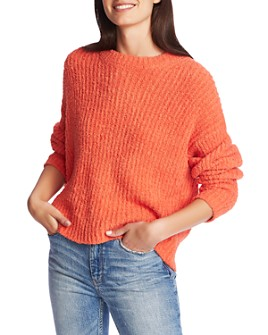 1.STATE - Textured Ribbed Sweater