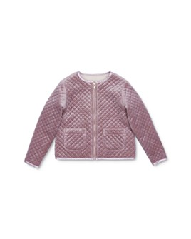 Peek Kids -  Girls' Kendall North Star Velour Jacket - Little Kid, Big Kid