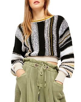 Free People - Show Me Love Cropped Sweater